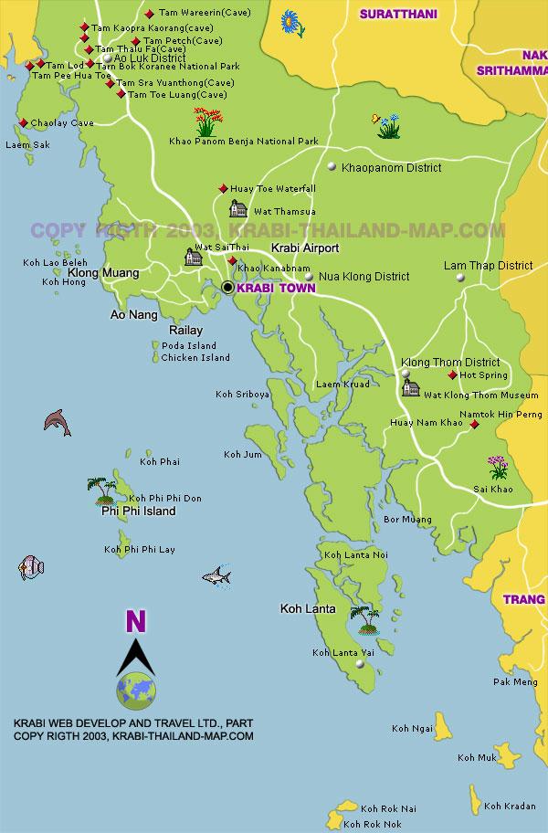 Krabi koh lanta phi phi island
